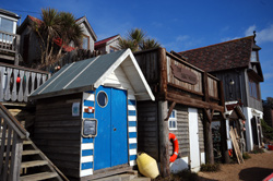 Steephill Cove Huts